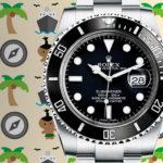 5 tips para sobrevivir a una isla usando un Rolex Submariner